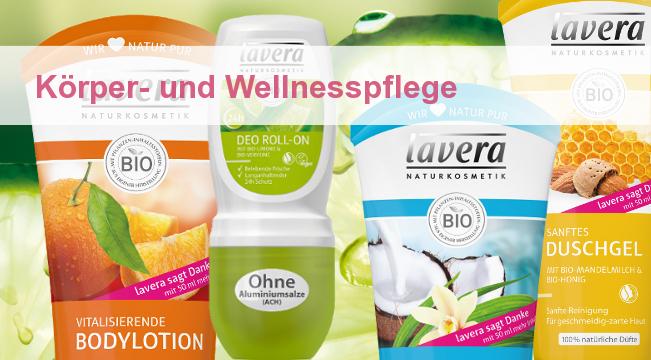 Lavera Wellnesspflege