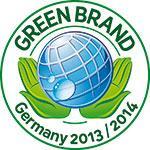 GREEN BRANDS Güte-Siegel