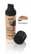 Natural Liquid Foundation Honey Beige 04 30 ml