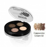 Beautiful Mineral Eyeshadow Quattro Cappuccino Cream 02