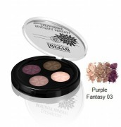 Beautiful Mineral Eyeshadow Quattro Purple Fantasy 03